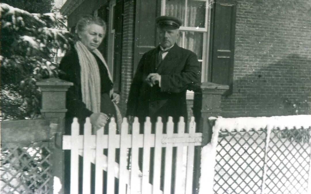 Tehuis voor oude mannen en invalide verpleegden in Veenhuizen.